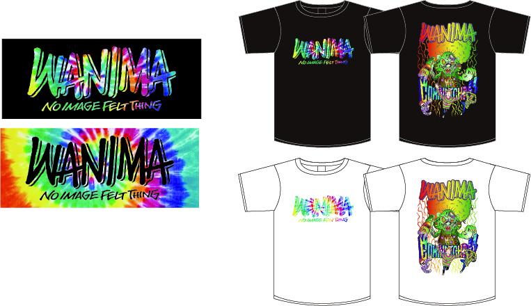 WANIMA 2020 Tシャツ&タオル